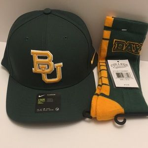 Baylor University Hat/Sock Set